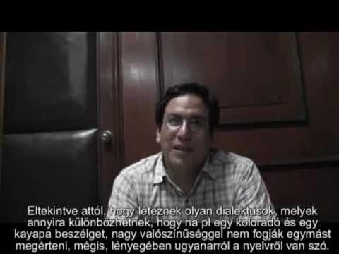 Ecuadori kutató a magyar nyelv és az ősi amerikai nyelvek kapcsolatáról