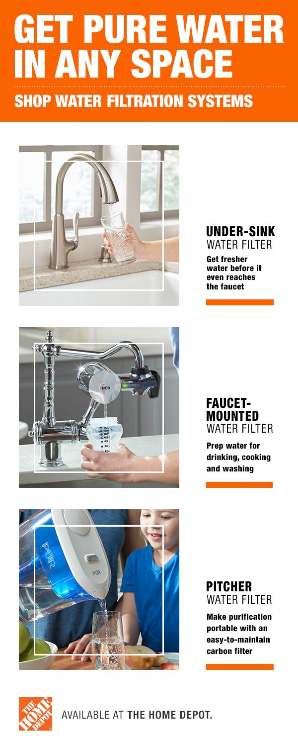 water filter the home depot