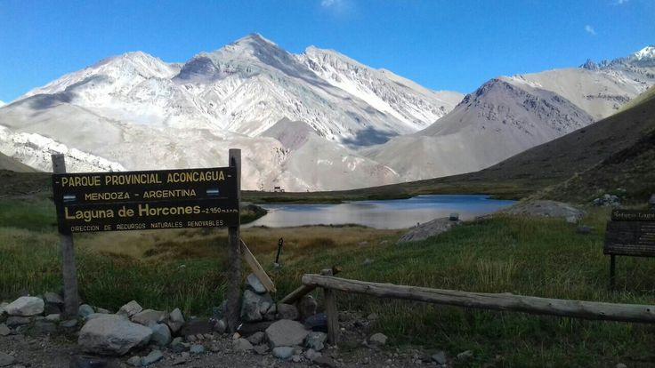Un paraje encantador, en plena Cordillera de Los Andes. República Argentina, Provincia de Mendoza