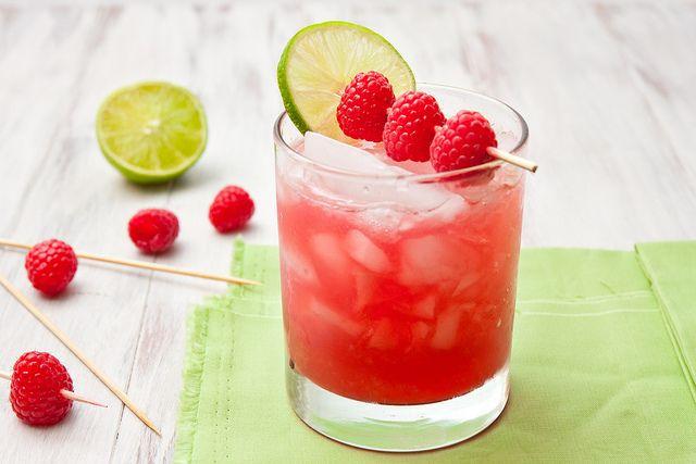 Raspberry Margaritas....who doesn't love margaritas?