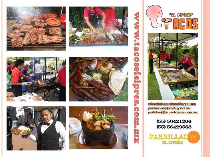 el mejor menu para festejar con los Amigos www.tacoselcipres.com.mx