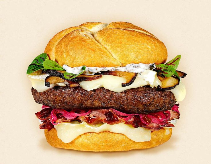 The New York | WI Camembert Cheese & Burgers