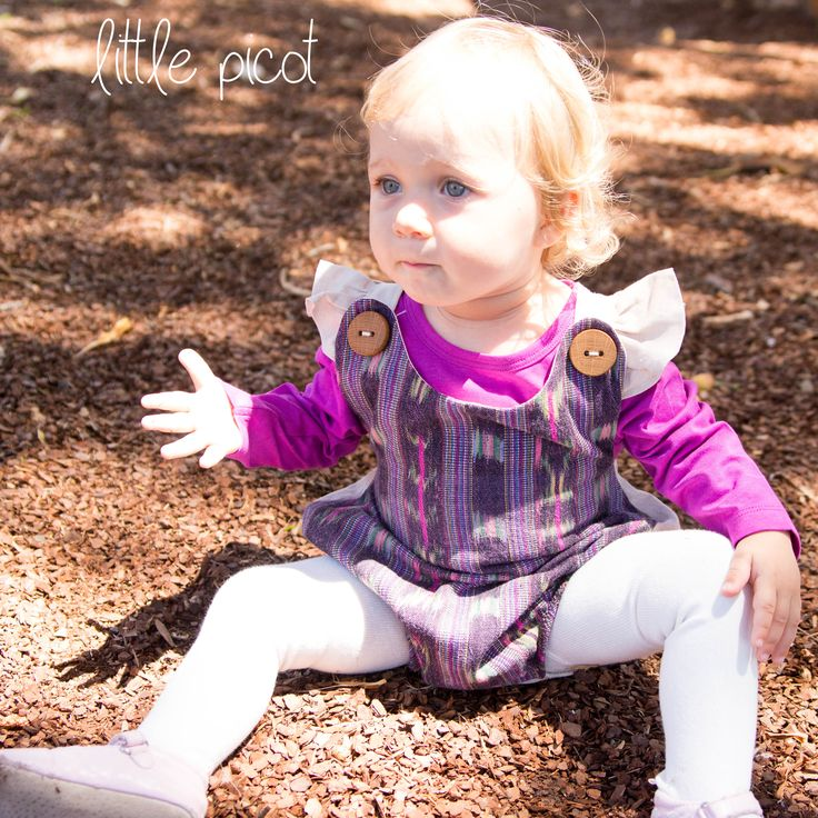 little picot A/W 15 - Pilar Playsuit! Whimsical Eco-Friendly Clothing for little girls.  Handmade in Australia!