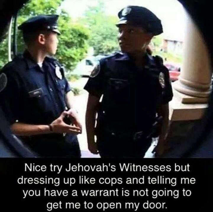 jehovah's witnesses joke