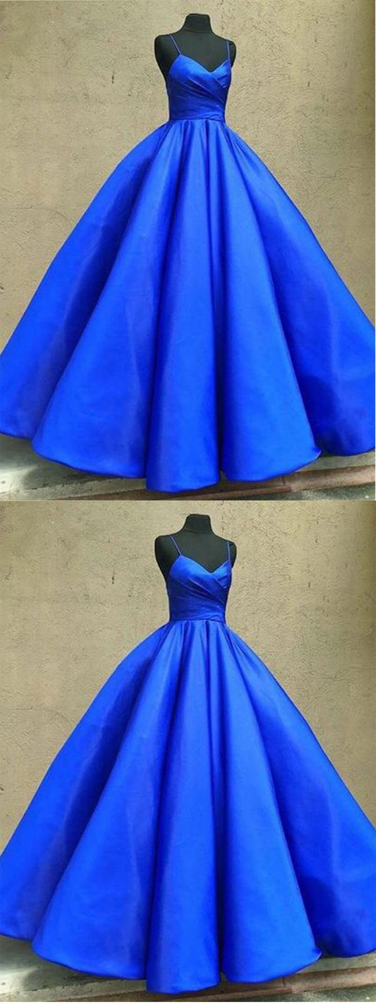 Royal Blue Prom Dress,Long Prom Dress,Modest Prom Dresses,Simple Prom Gown,A line Prom Dress #royalblue #ballgown #simple #formal #evening #okdresses