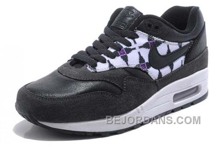 http://www.bejordans.com/free-shipping6070-off-get-2014-new-nike-air-max-1-87-womens-shoes-new-releases-black-purple-qecbd.html FREE SHIPPING!60%-70% OFF! GET 2014 NEW NIKE AIR MAX 1 87 WOMENS SHOES NEW RELEASES BLACK PURPLE QECBD Only $92.00 , Free Shipping!
