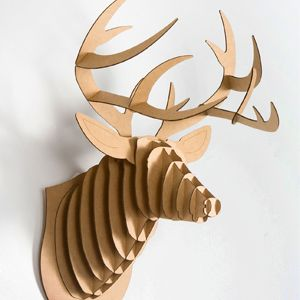 Gifts for Dads - Christmas Gift Ideas for Dad - Seventeen- My dad has always wanted to shoot a buck to hang up on the wall. He would find this downright hilarious. #17holiday