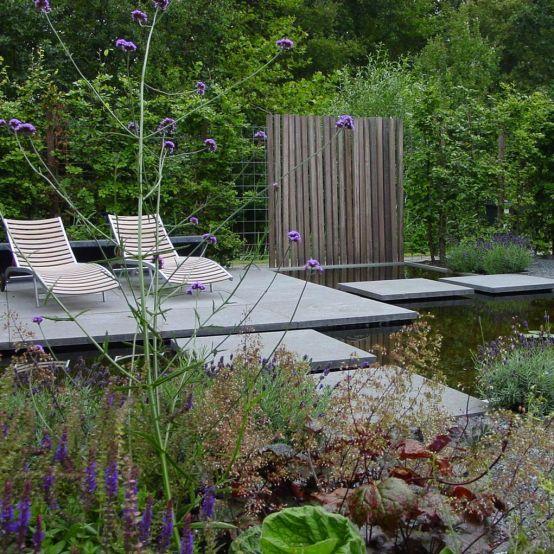 365 best images about backyard pond designs on pinterest for Best pond design