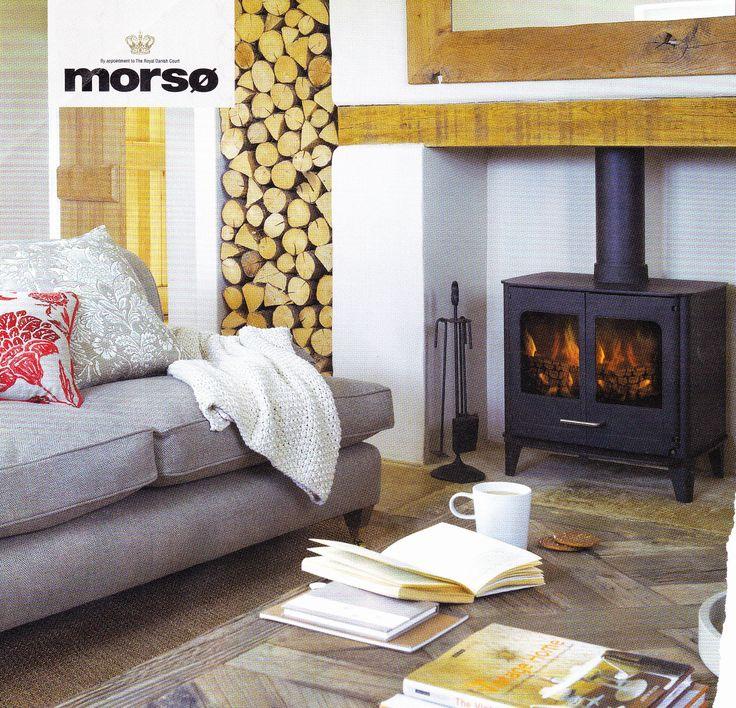 Morso - stove and wood
