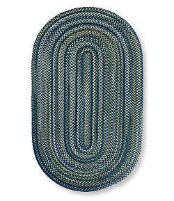 #LLBean: Bean's Braided Wool Rug, Oval