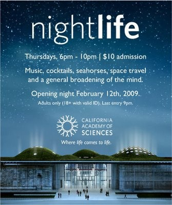 Thursday Night's NightLife @ Academy of the Sciences
