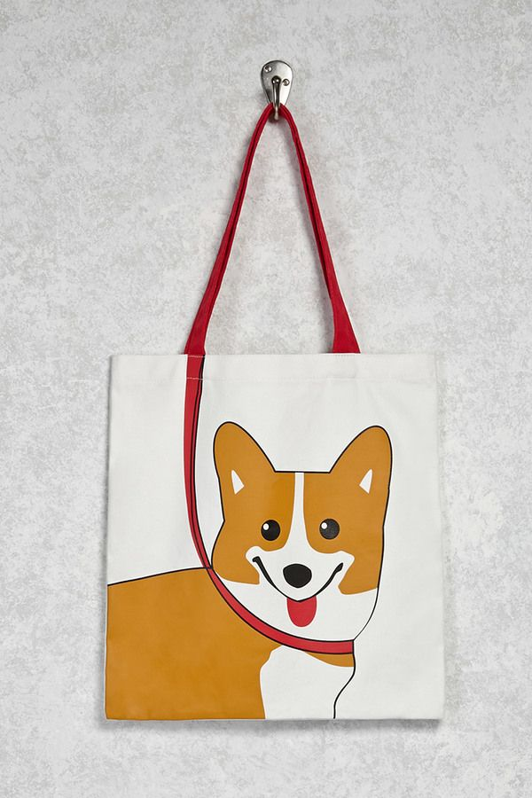VIDA Tote Bag - Corgi by VIDA YzTSo