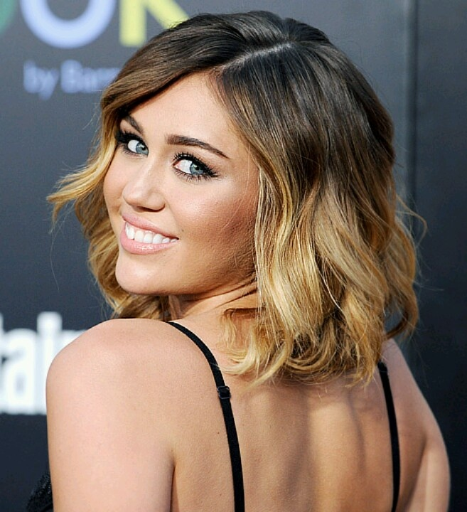 Shoulder Length Hairstyles With Ombre : Shoulder length ombre sombre