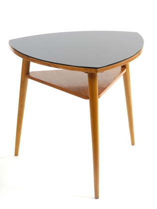Captivating CZECH MID CENTURY SIDE TABLE CIRCA 1959