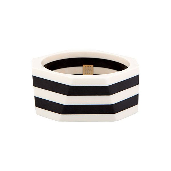 OOOK - Carolina Herrera - CH Kadın Aksesuarları 2012 İlkbahar-Yaz -... ❤ liked on Polyvore featuring jewelry, bracelets, accessories, striped, carolina herrera and carolina herrera jewelry