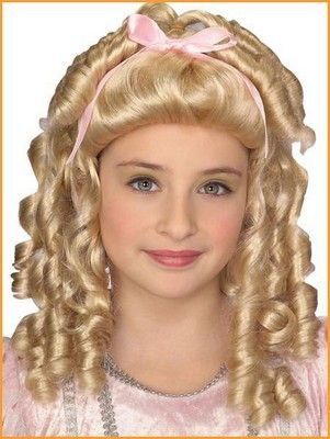 Halloween Wigs Childs Goldilocks Costume Wig