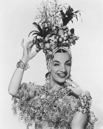 Carmen Miranda was a Portuguese-born Brazilian samba singer, dancer, Broadway actress, and film star who was popular from the 1930s to the 1950s.|