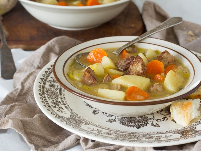 What the Union Soldiers Ate - Civil War Beef Stew on The History Kitchen.com