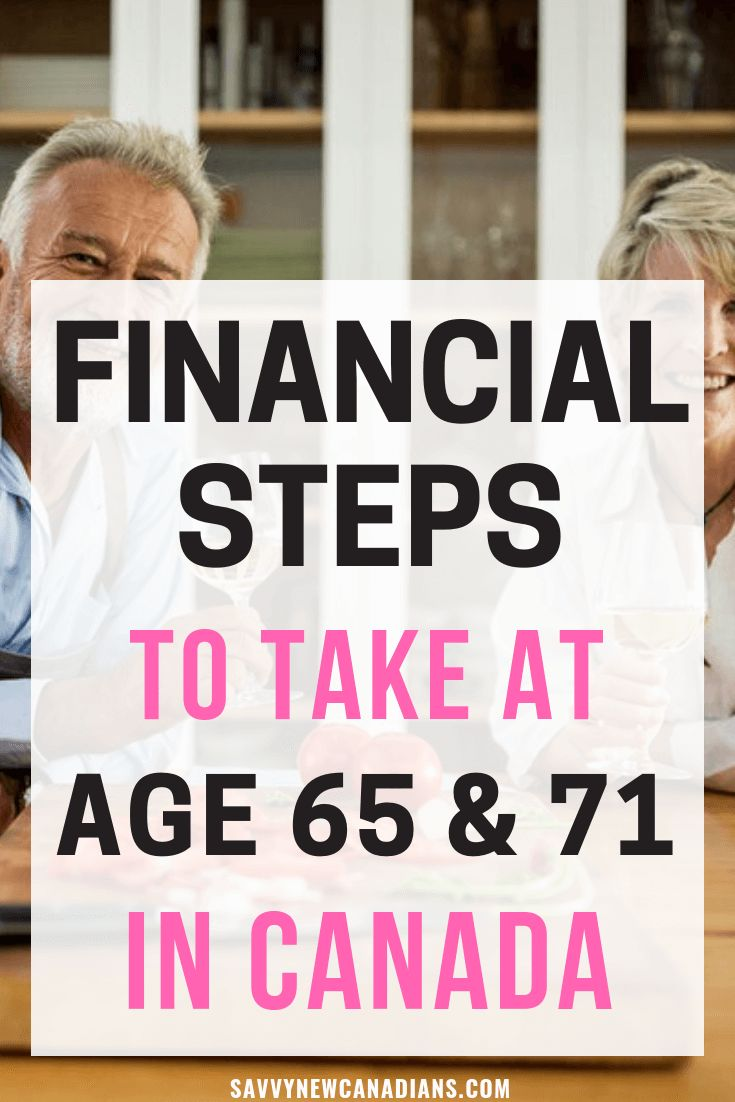 Here are all the financial steps you should take in retirement when you reach age 65 and 71 in Canada. See what you need to do with your OAS and CPP pensions, RRSP and RRIF conversions, and workplace pensions. #retirementplanning #financialplanning #pensions #personalfinance