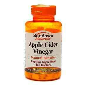 Apple cider vinegar pills. I'm sure its much better then the liquid form. A must try for me.