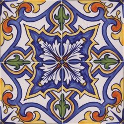 Portuguese hand painted tiles
