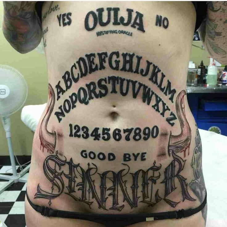 how to say ouija board