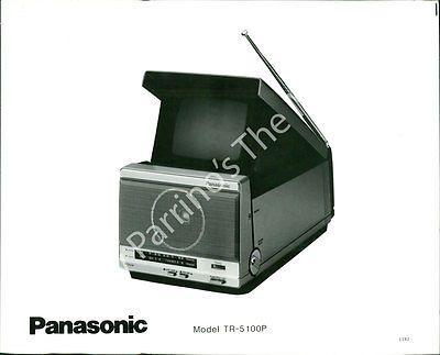 AEU-315 VINTAGE PHOTO- PANASONIC TELEVISION SET MODEL TR-5 100P