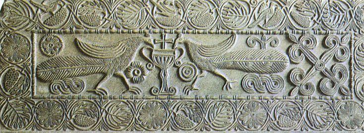 Византийские плутео -2. Композиции с птицами: uchitelj