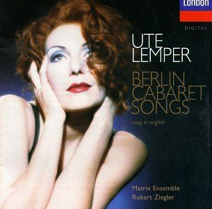 1997 - Berlin Cabaret Songs - sung in English