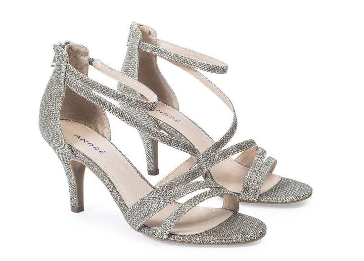 Chaussures mariage à paillettes André