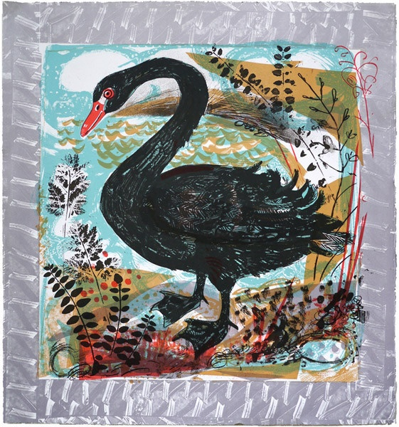 Mark Hearld's Menagerie Swan