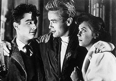 Sal Mineo; James Dean; Natalie Wood