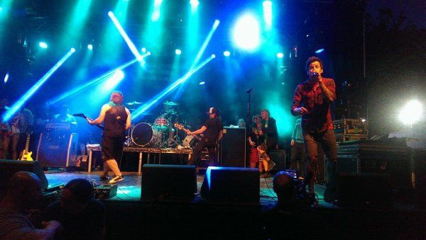 Reset perorming at Amnesia Rockfest in Montebello, QC on June 20th, 2014.