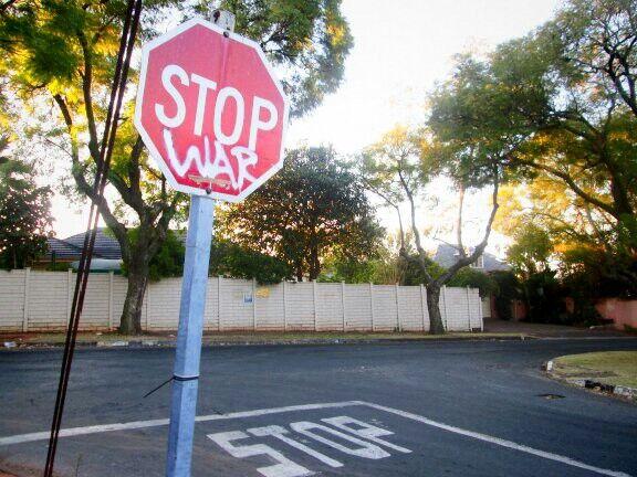 Stop War Johannesburg