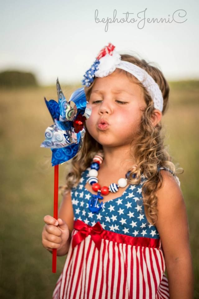 4th of July photoshoot