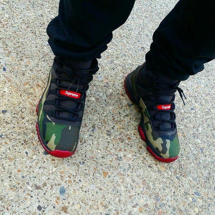 Supreme Jordan 11s low @GottaLoveDesss