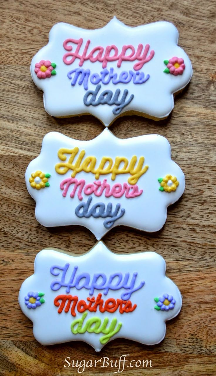 Sugar Buff : Mother's Day Cookies