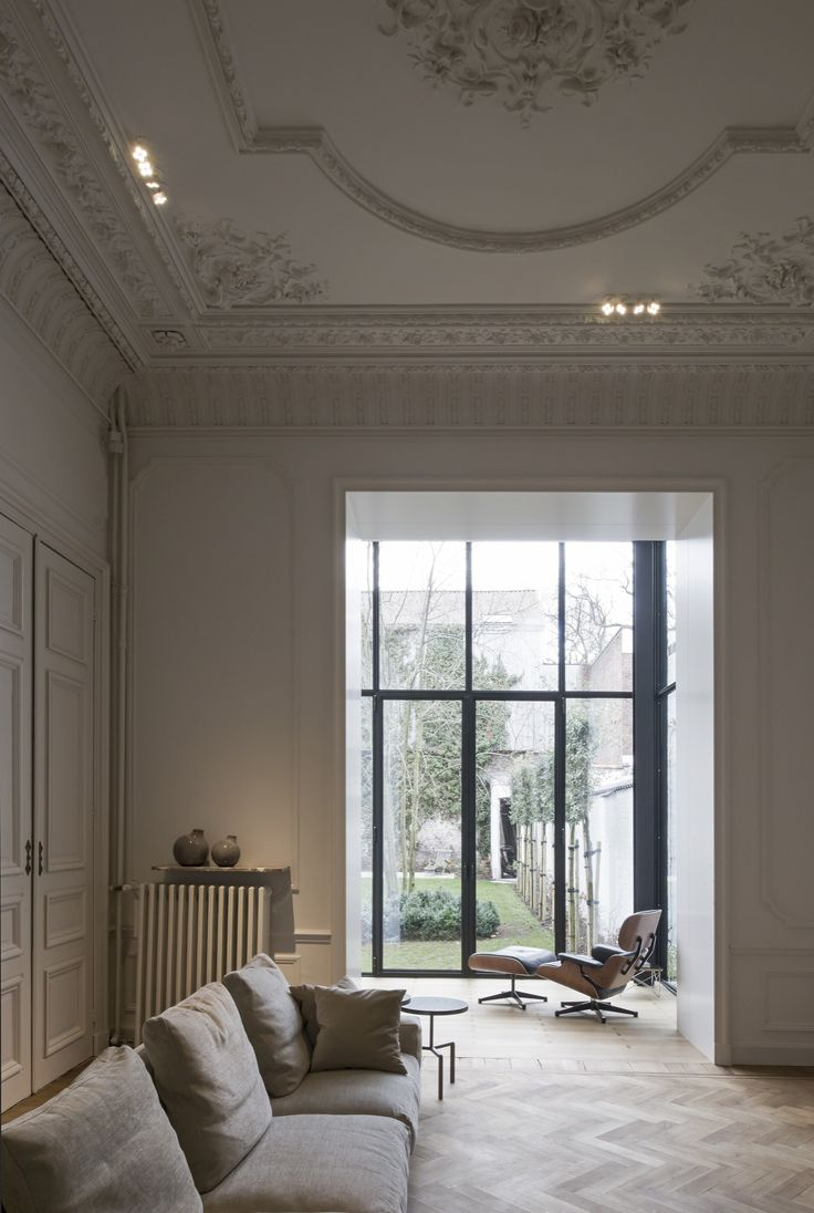 178 best altbau images on pinterest live cozy homes and ghent house renovated by hans verstuyft architecten