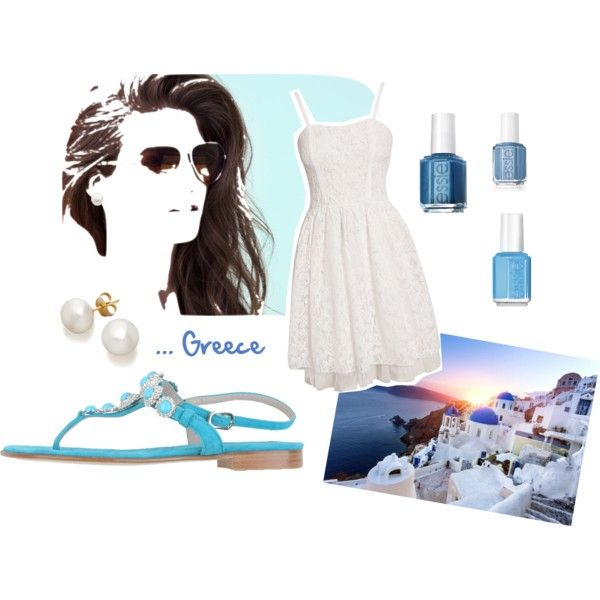 """Just ... Greece !!!"" by gravakat on Polyvore"