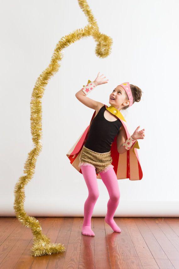 Super Tiara & Cape Super Girl Costume Girl Gift by lovelane