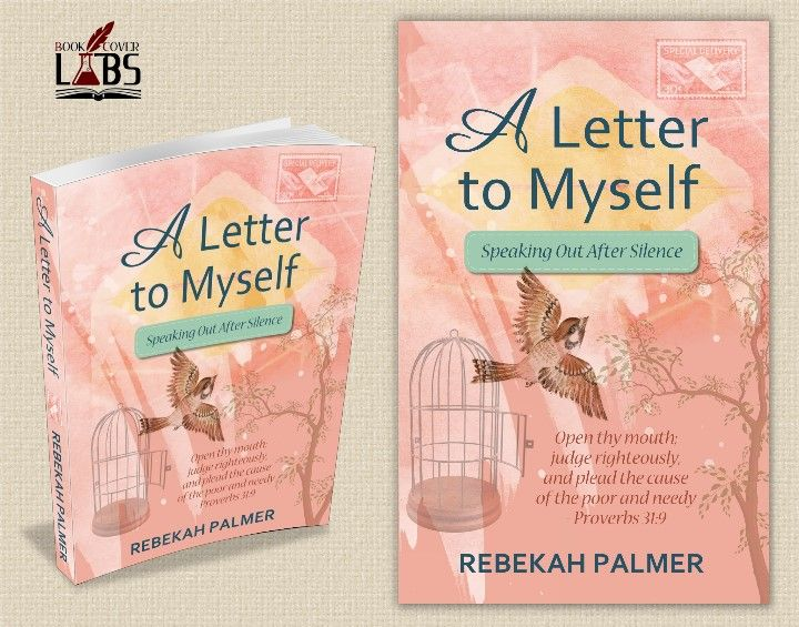 Rebekah Palmer A Letter To Myself Christian Book Cover Design By