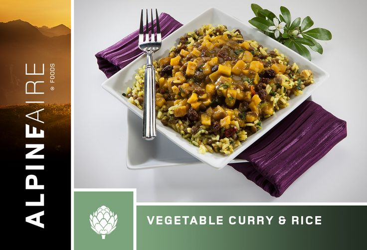 AlpineAire Vegetable Curry & Rice