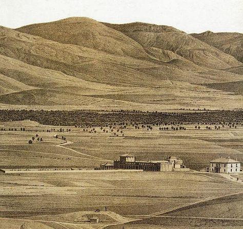 Το Μεταξουργείο του 1835.Οικία Κόντε Βότσαρη (νυν οικία Αριστομένη Προβελέγγιου, στη γωνία των οδών Μυλλέρου και Κεραμεικού).