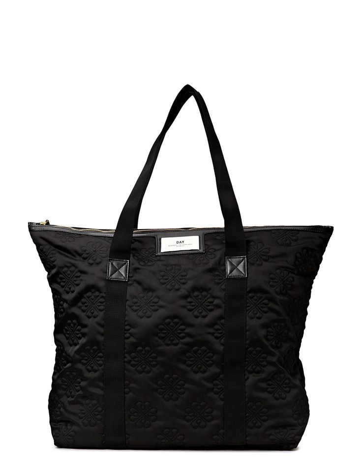 DAY - Night Gweneth Sign Bag Inner zip pocket Textured Tote bag