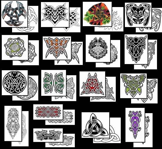 Scottish Tattoos And Meanings: 37 Best Images About Celtic Symbols On Pinterest