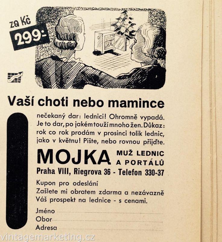 Vaší choti nebo mamince lednici. #vintagemarketing http://ift.tt/2eqhiFh