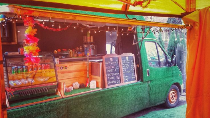 Green food truck #specialfoodtruck #foodtrucks