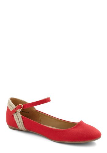 cute flats - I wonder if the quality of modcloth's shoes is better than the dresses I've ordered from them.