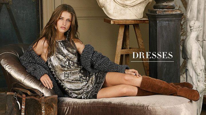 Женские платья | короткие, Макси, вечерние и Коктейльные | Ральф Лорен