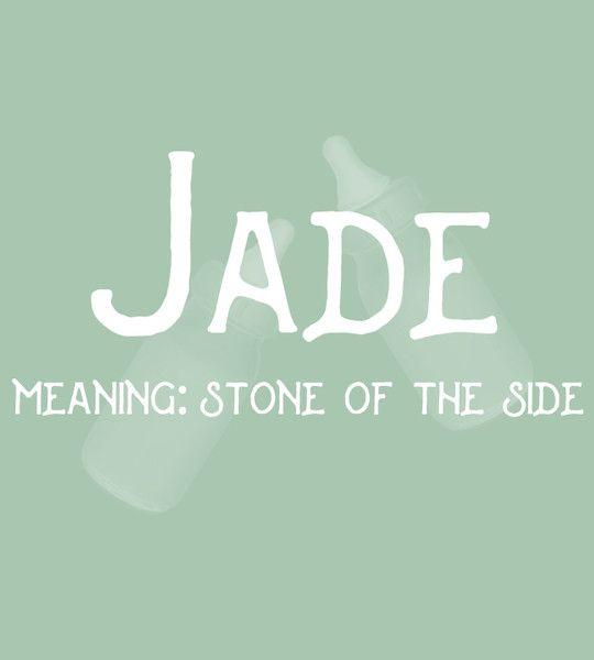 Jade Baby Names For GirlsStrong
